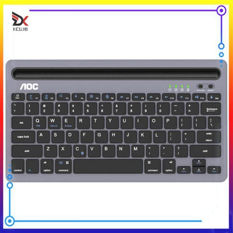 Tablet Phone Mute Mini Keyboard Ultrathin Portable Office Game Wireless Bluetooth 3.0 Keypad Singapore