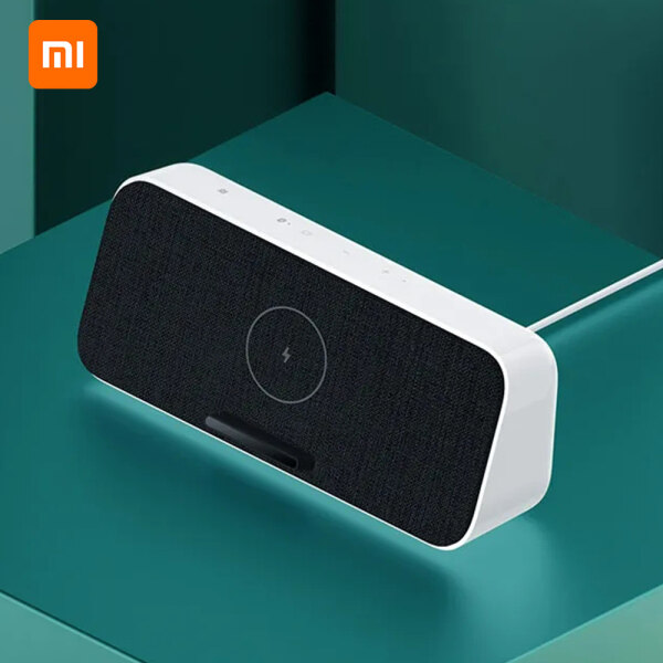 Xiaomi BT Speaker Fast Wireless Charger 30W MAX BT5.0 Home Music Speaker With Microphone HD Call For iPhone Samsung Xiaomi Singapore
