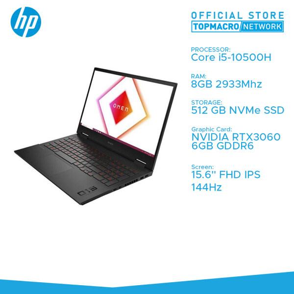 """HP OMEN 15-EK1016TX Gaming Laptop (i5-10300H, RTX 3060 6GB, 8GB, 512GB, 15.6"""" IPS 144Hz, Win10) Malaysia"""