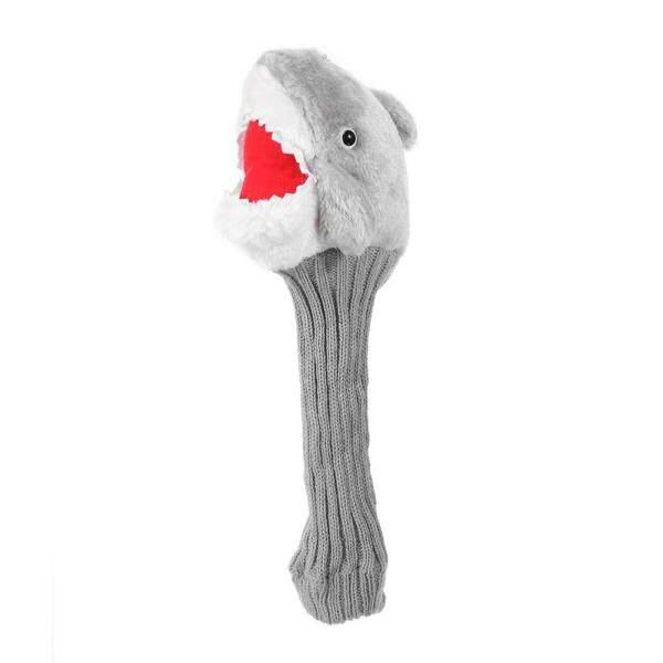 Bọc Đầu Gậy Đánh Golf Hình Cá Mập Bằng Lông Cừu Cho Gỗ Số 3 No.5 Fairway