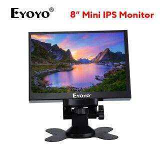 EYOYO Màn Hình IPS Mini 8 Inch, Màn Hình LCD TFT Độ Phân Giải 1024X768 Với Đầu Vào Video HD VGA BNC AV Cho PC DVD DVR CCD Camera thumbnail