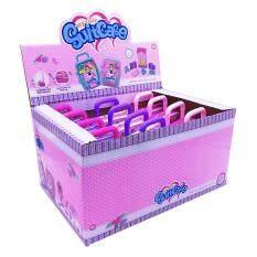 Bộ hành lý trang điểm công chúa có xe đẩy, chất liệu an toàn không độc hại thích hợp làm quà tặng cho bé gái, kích thước 15×10 cm – INTL