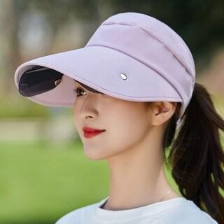 Mũ Che Nắng Nữ, Với Tấm Che Ống Kính Mũ Rộng Vành Mũ Đi Biển, Có Thể Điều Chỉnh Bảo Vệ UV thumbnail