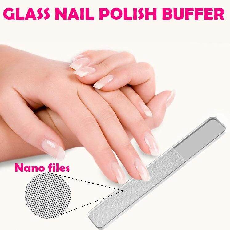 b754ecd42f9   READY STOCK M SIA   Glass Nail File Nail Shiner Nail Polish Buffer  Pengilat