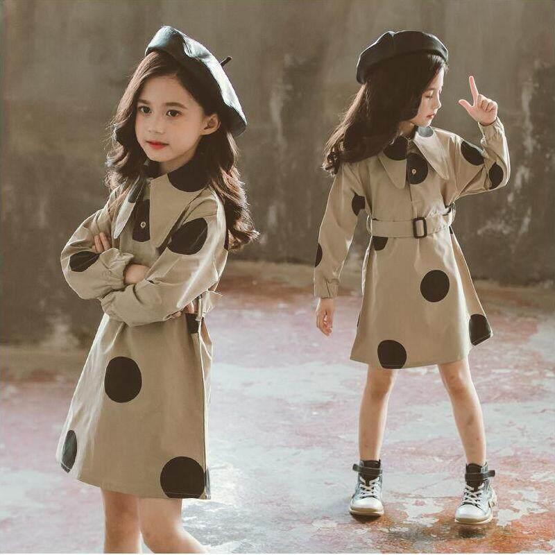 Giá bán Trẻ Em Áo Thu Váy Của Trung Và Đại Học Nữ Mới Váy Công Chúa