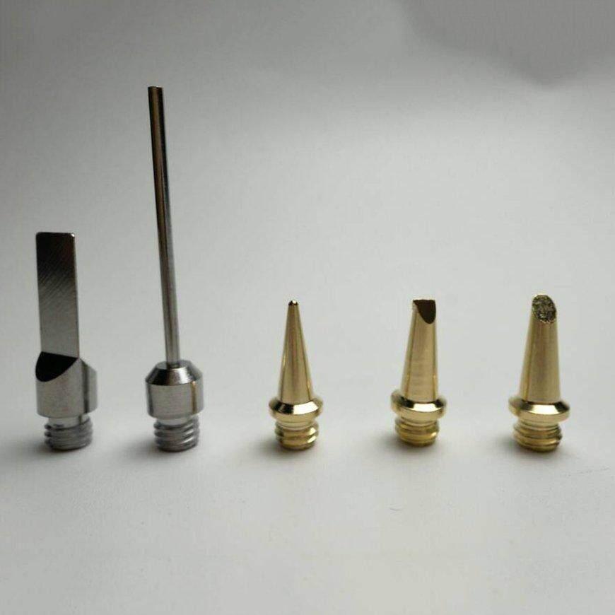 Penjualan Terlaris Aerasi Api Pengelas Gas Pulpen Senter DIY Tool Kit Cordless Besi Solder Tips