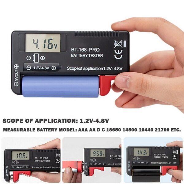 Bảng giá Dung Lượng Pin Thử-Máy Kiểm Tra Dung Lượng Pin Lithium Cao 168 PRO Thiết Bị Đo Pin Hiển Thị Kỹ Thuật Số