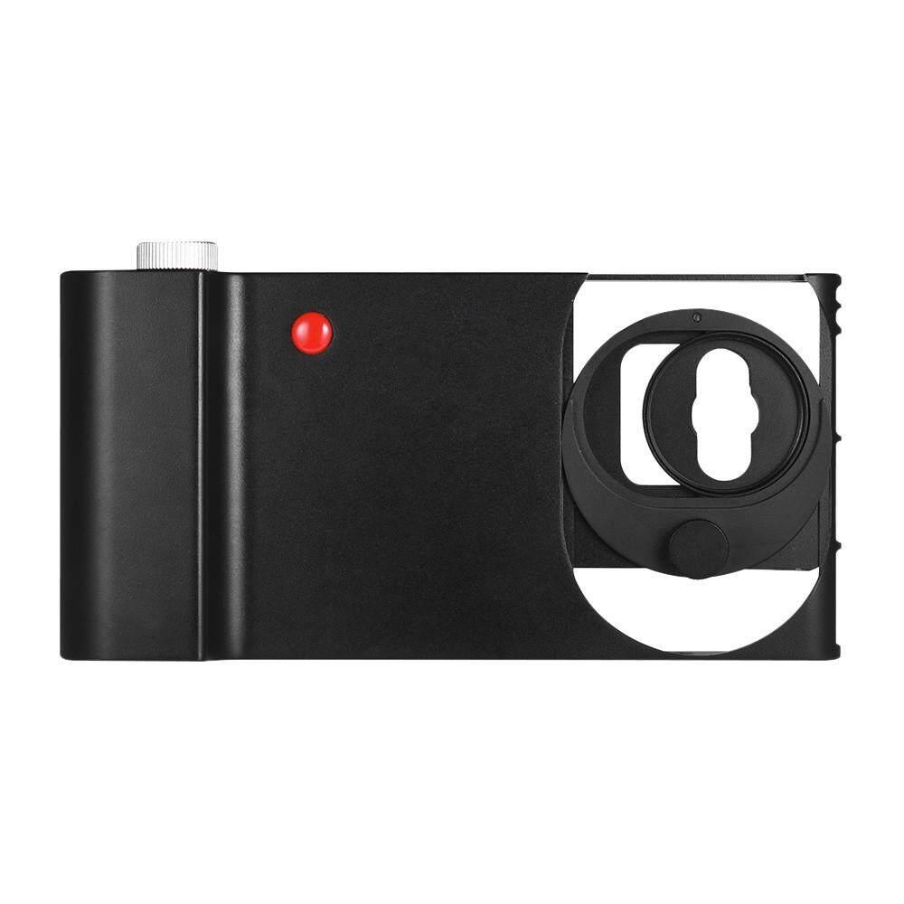Aluminium Aloi Smartphone Video Rig Sudut Lebar Adaptor Lensa Bundel Ponsel Film Cage Stabilizer Pegangan dengan Sepatu Panas Mount untuk iPhone X 8 7 6 S Plus untuk Samsung Galaxy Huawei