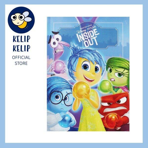 Buku Cerita Disney Pixar Inside Out Saiz Besar Bahasa Malaysia Padded Hardcover untuk Kanak Kanak Malaysia
