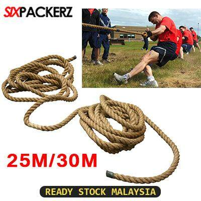 High Quality Tug of War Rope Tali Tarik 25M/30M Tali Kapal
