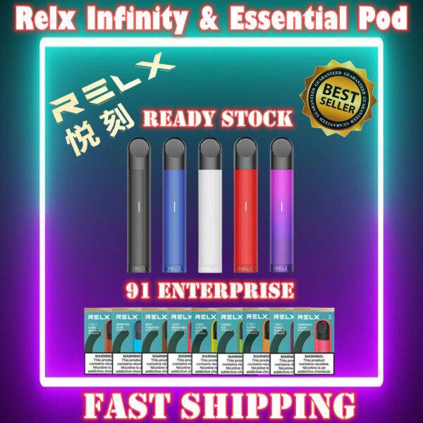 💥Hot Deal💥Original Relx Malaysia Relx Essential/Relx Infinity Single Vape Pod Flavor Device Starter Kit Relx infinity Pod Relx essential Pod Relx Pod Relx4 Relx5 4 and 5generation pod RELX Infinity Refill Pods 100% Original Malaysia