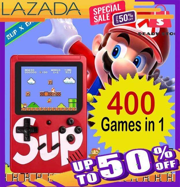 400 Games Brand Retro Mini Gameboy Game Console Emulator Built-In