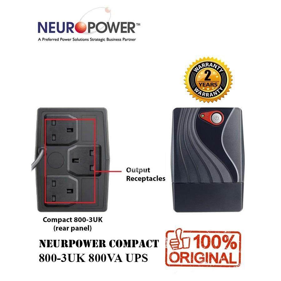 NEUROPOWER COMPACT 800-3UK UPS 800VA ( 800 - 3UK )