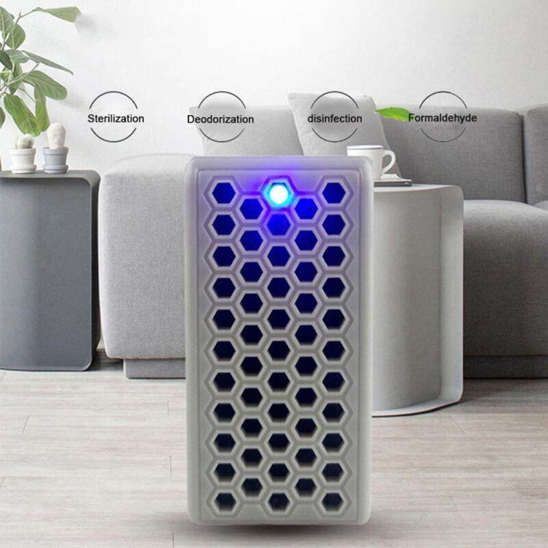 leegoal Portable Air Sterilizer Nagative Ion USB Air Purifier for Household Office(4.8*3.3*6.7cm) Singapore