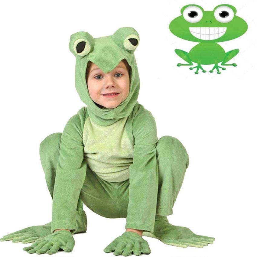 Frog Plays Stage Costumes Adult Children Play Animal Costumes Parent-child Costumes Kindergarten Performances Cosplay Costume