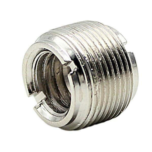 2pcs Microphone Mic Screw Nut Thread Adaptor 3/8  to 5/8  Connector Cupronickel Malaysia