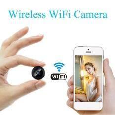 Camera Mini không dây Wifi IP bảo vệ nhà HD 1080P DVR nhìn ban đêm điều khiển từ xa
