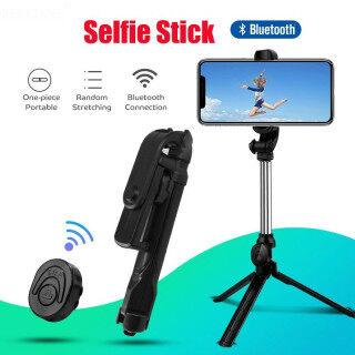 Gậy Chụp Ảnh Tự Sướng Bluetooth 3 Trong 1 Có Thể Kéo Dài Chân Máy Điện Thoại Chân Máy Đơn Với Điều Khiển Từ Xa Bluetooth Cho Gậy Selfie Điện Thoại Thông Minh Phổ Thông thumbnail