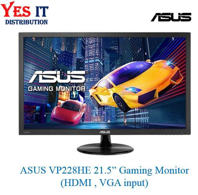 ASUS VP228HE Gaming Monitor - 21.5 FHD (1920x1080) , 1ms, Low Blue Light, Flicker Free(HDMI &VGA input) Malaysia