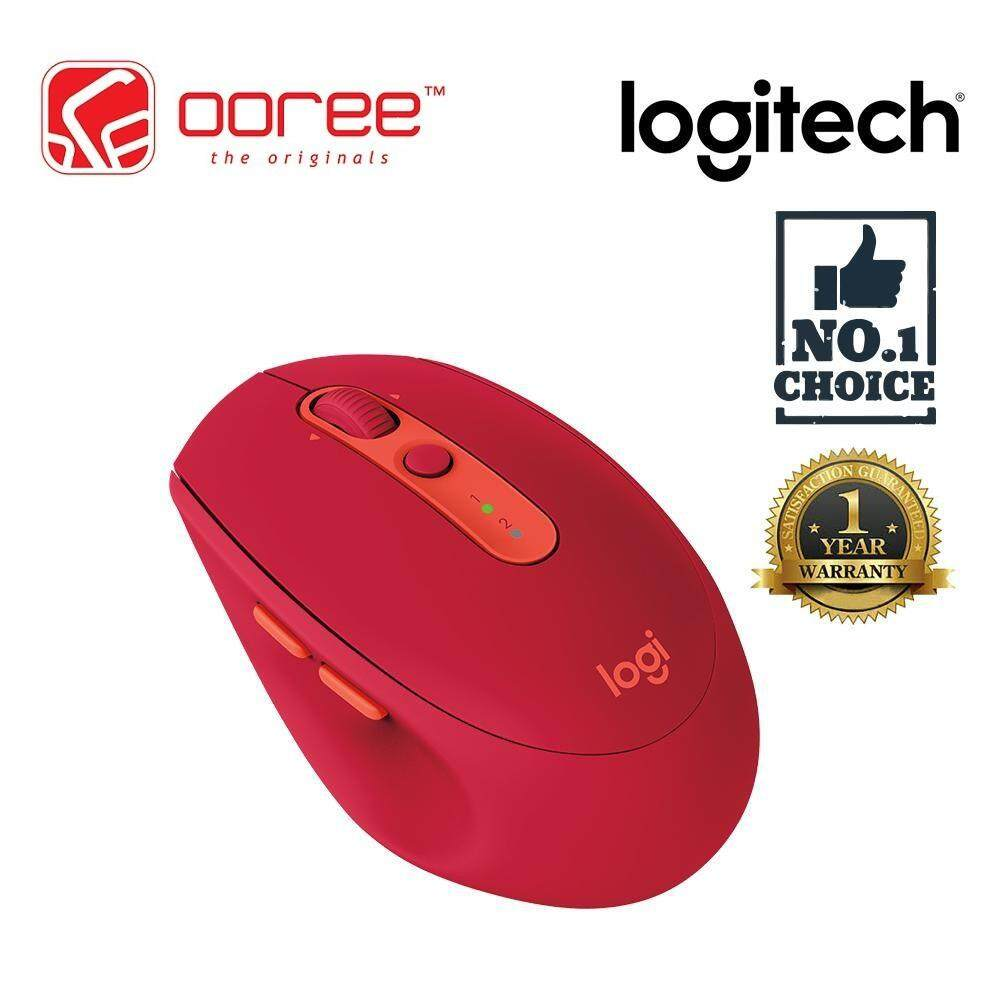 LOGITECH M590 SILENT BLUETOOTH WIRELESS MOUSE WITH 2-THUMB BUTTONS WIRELESS RANGE 10 METERS Malaysia