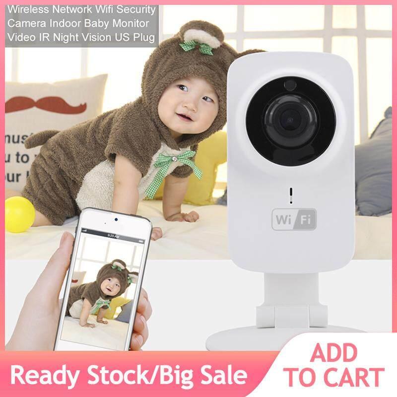 Wireless Network Wifi Security Camera Indoor Baby Monitor Video IR Night Vision US Plug