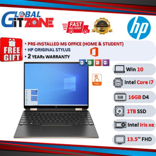 HP Spectre x360 14-ea0054TU 13.5 WUXGA+ Touch Laptop Poseidon Blue ( i7-1165G7, 16GB, 1TB SSD, Intel, W10, HS ) Malaysia