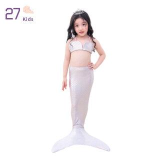 27 Cái bộ 2 Món Đồ Bơi Nàng Tiên Cá Cho Bé Gái, Đồ Bơi Đuôi Nàng Tiên Cá Cho Trẻ Sơ Sinh Trẻ Em, Trang Phục Nàng Tiên Cá Đồ Bơi Bikini thumbnail
