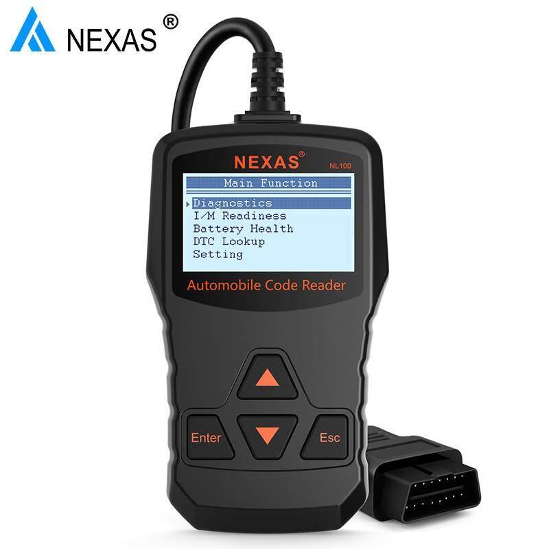 Nexas Nl100 Obd2 Auto Diagnostic Scanner Obdii Engine Automotive Scanner  Universal Obd 2 Car Auto Scanner Pk Elm327 Obd By Obdspace Store
