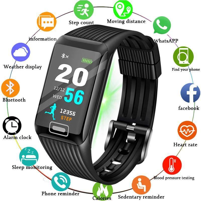 2019 New Smart Watch Men Heart rate Blood Pressure Monitor fitness tracker Smart Bracelet Sports pedometer Watch Smart band Malaysia