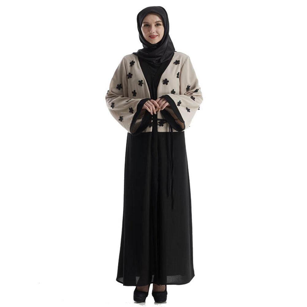 Field ผู้หญิงมุสลิมดอกไม้พิมพ์ชุดยาว By Open Field.