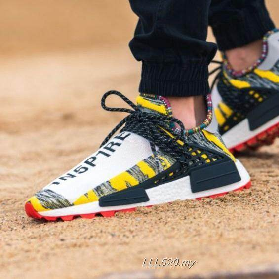 สอนใช้งาน  พะเยา Pharrell_Williams_x_Adidas_NMD_Hu_Trail_Solar_Pack_(Human_Race)