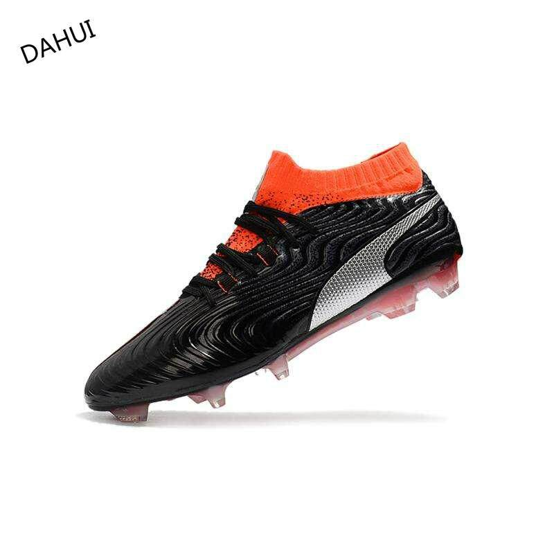 9d7f1dd0a08 High Ankle Football Boots Superfly Original Knitted Waterproof One 18.1 Syn  FG Nail Football Shoes Adulto