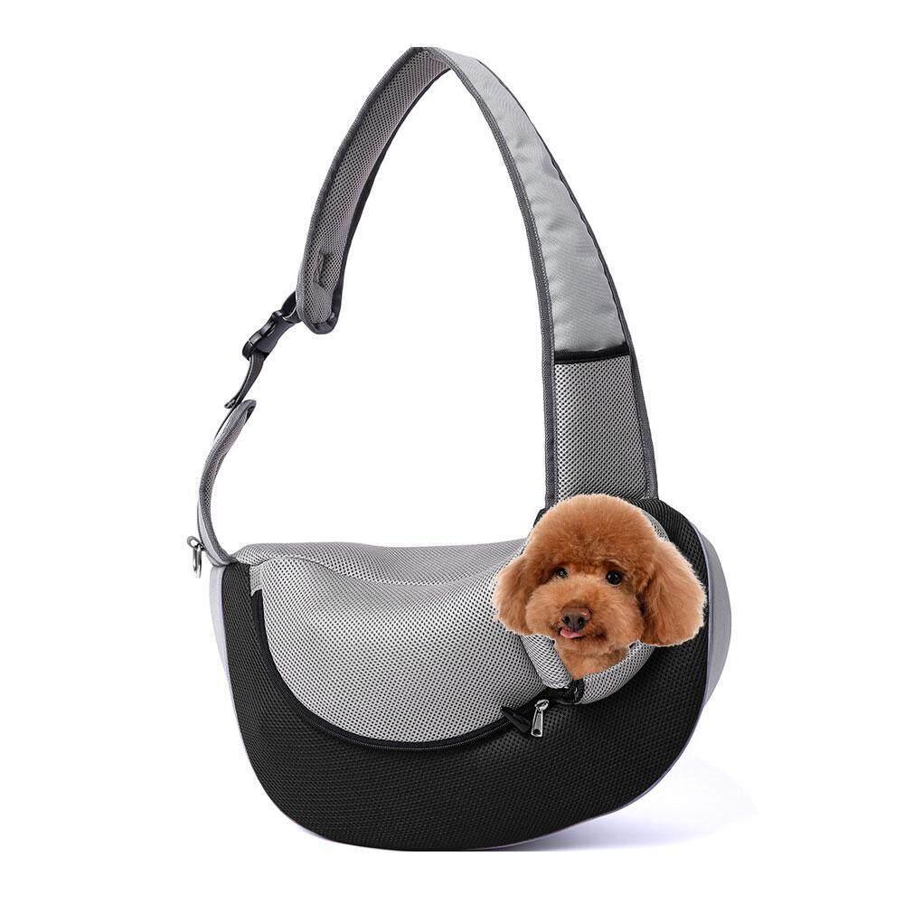 cffe39ae39 leegoal Pet Sling Carrier Breathable Adjustable Mesh Travel Single Outdoor  Shoulder Bag for Puppy Dog Cat