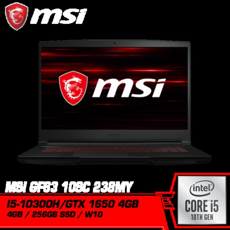 MSI GF63 Thin 10SC-238MY (Intel i5-10300H , GTX1650 GDDR6 4GB) Malaysia