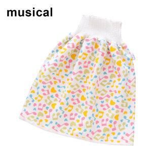 Váy Tã Trẻ Em Thoải Mái Quần Soóc, Quần Tã Trẻ Em 2 Trong 1 Giặt Được Chống Thấm Nước Chống Rò Rỉ thumbnail