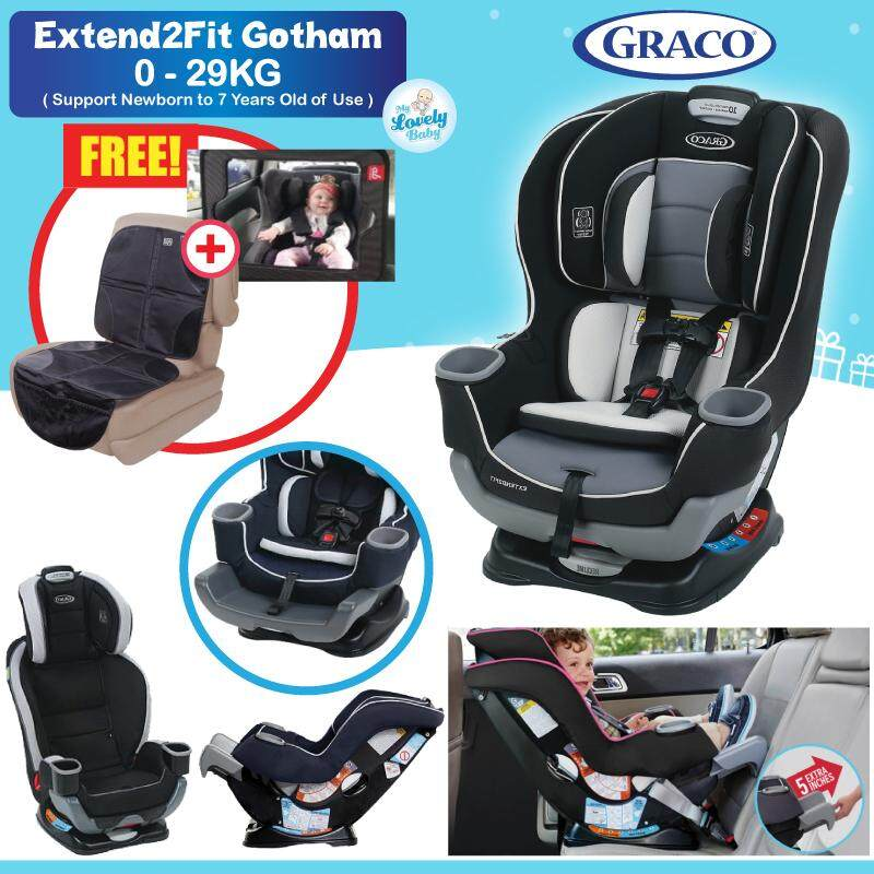 Graco Extend2FitR Convertible Car Seat