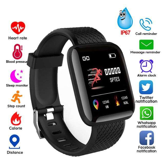 ea0c1db1056 Eonet 116 Smart Bracelet Monitor Bluetooth Smart Watch IP67 Water Proof  Wristband For Android And IOS