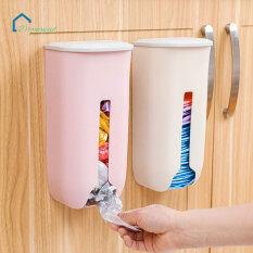 Hộp đựng giấy vệ sinh, túi rác gắn tường dùng trong nhà bếp, phòng tắm, chất liệu nhựa, Màu sắc: Xanh, Trắng, Hồng, Xám, xanh nhạt