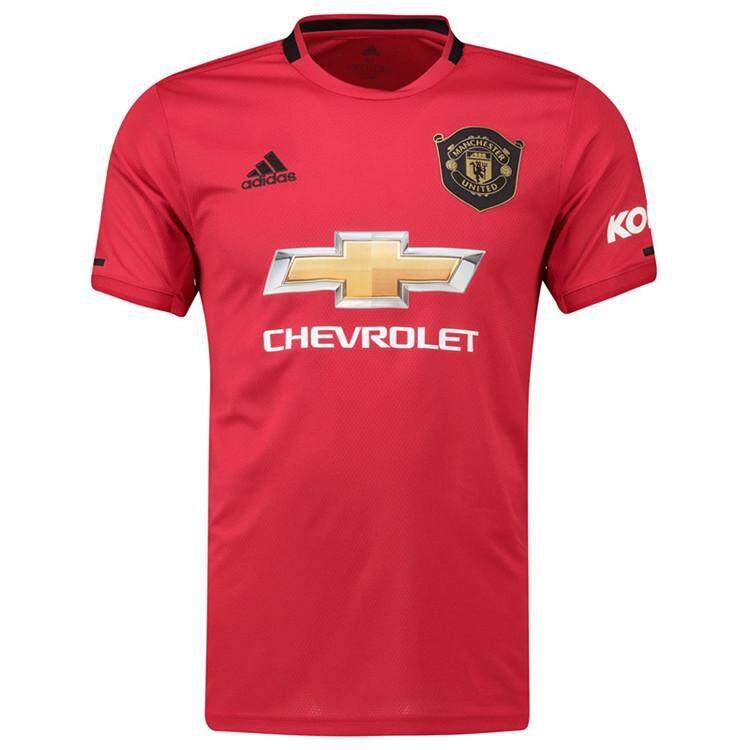 315196553da Manchester_ United Home Soccer New Shirt Jersey Football Jersey For Men 2019 /2020