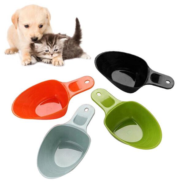 1 Cái Xẻng Thức Ăn Cho Thú Cưng Đa Chức Năng Xẻng Cho Ăn Có Tay Cầm Bằng Nhựa Để Tránh Ăn Quá Mức Cho Chó Mèo