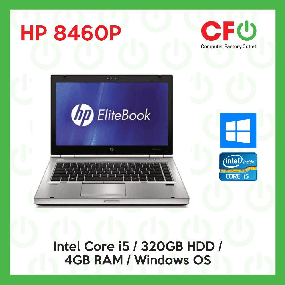 HP ProBook 8460p / Intel Core i5 /4GB RAM / 320GB HDD / Windows OS Laptop / 1 Month Warranty (Factory Refurbished) Malaysia