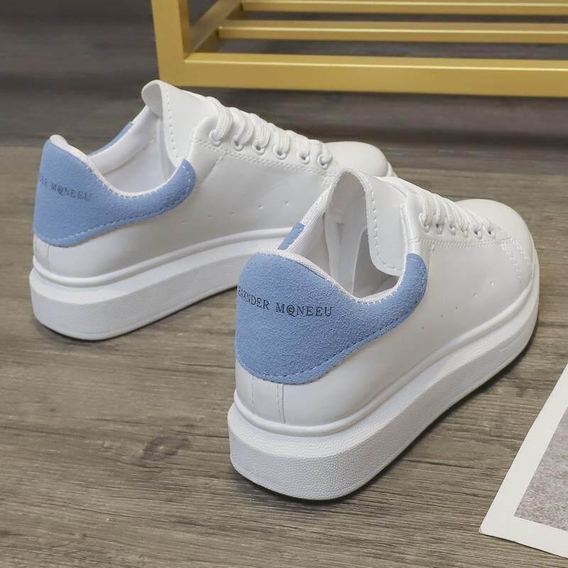 Giày Nữ Vestline Giày Sneaker Hàn Quốc Cho Thời Trang Nữ Giày Đế Bệt Giày Đế Bằng Màu Trắng Cho Nữ Giày Thể Thao Cho Nữ 2019 Mới Đang Trong Dịp Khuyến Mãi