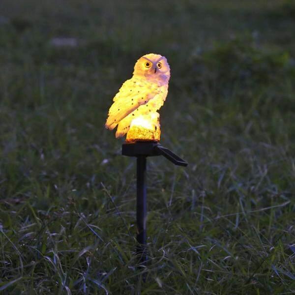 Đèn Năng Lượng Mặt Trời Chinatera, Đèn LED Cảnh Quan Sân Vườn, Ngoài Trời, Chống Thấm Nước, Hình Cú