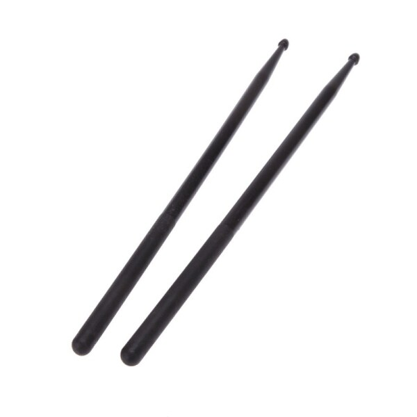 Pair of 5A Drumsticks Nylon Stick for Drum Set Lightweight Professional Black Malaysia
