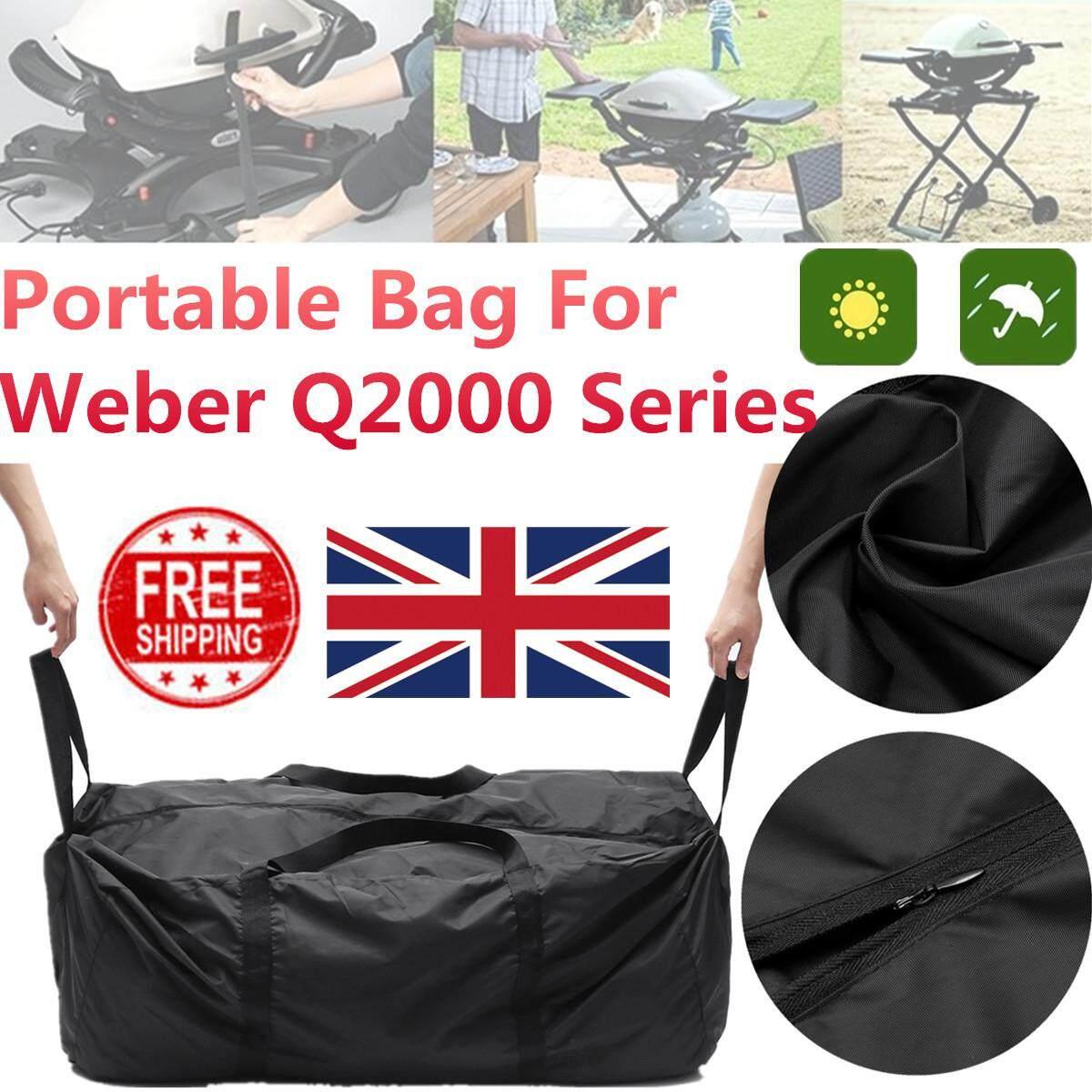 MỚI Xách, Túi Đựng Đồ cho Weber Q (Q2000 Series) phù hợp với Weber BBQ 17709 90*55*43 cm