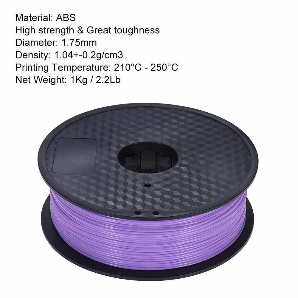 3D Printer Filament 1.75mm ABS PLA 1kg 2.2lb multiple Color MakerBot RepRap MY
