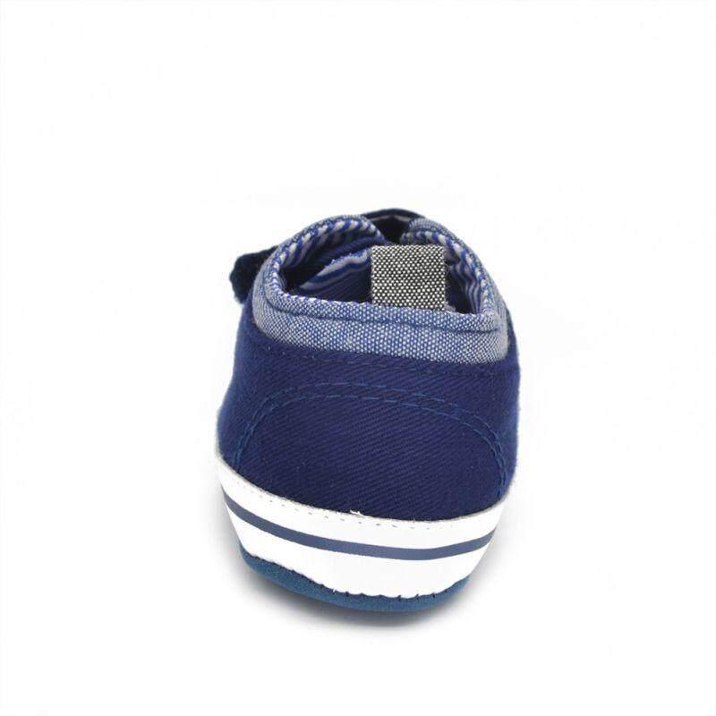 Bé Sơ Sinh Bé Trai Cotton Cổ Chân Canvas Cao Cấp Cũi Giày Casual Giày Sneaker Bé Tập Đầu Tiên Xe Tập Đi Hàng Mới Về By Loveingbaby.