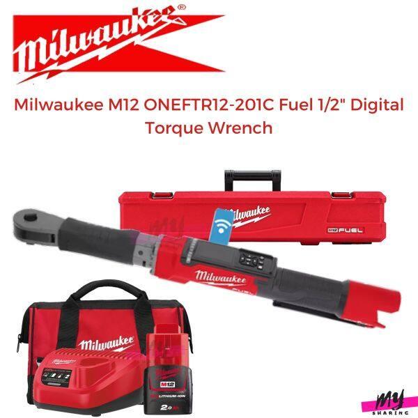 Milwaukee M12 ONEFTR12-201C Fuel 1/2 Digital Torque Wrench