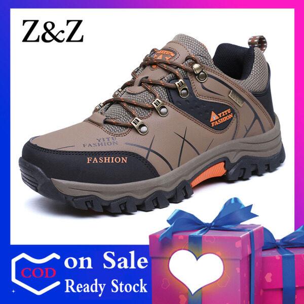 Giày Đi Bộ Đường Dài Z & Z Cho Nam Giày Đi Bộ Leo Núi Chống Trượt Chống Nước Đế Bằng Dùng Ngoài Trời