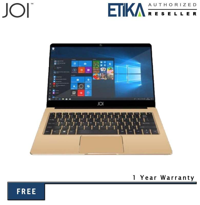 JOI Book 80 12.5 FHD Gold Laptop (Cel N3350/ 4GB/ 64GB/ Intel Graphics/ W10) Malaysia